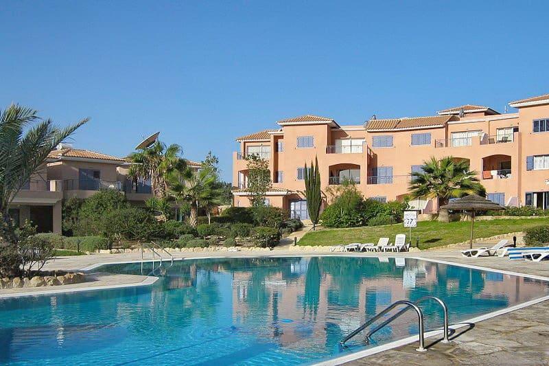 Appartementanlage in Paphos - Auswandern und Leben auf Zypern