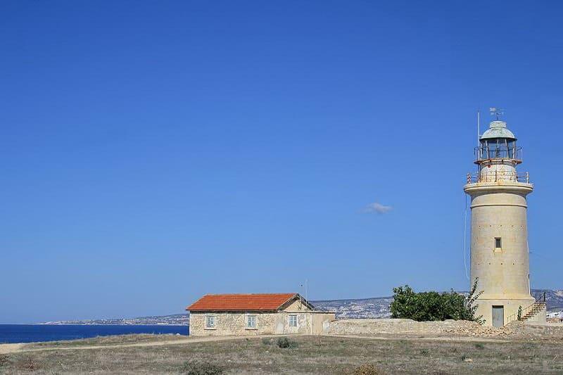 Leuchturm in Paphos - Auswandern und Leben auf Zypern