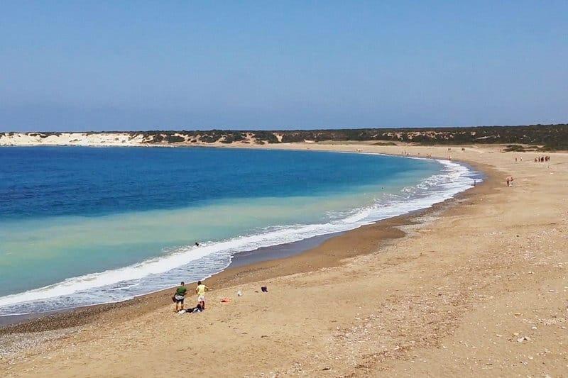 Lara Beach im Akamas-Gebiet - Auswandern und Leben auf Zypern