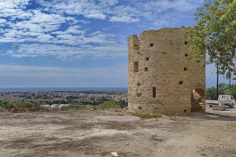 Blick von Paphos (Oberstadt) in Richtung Meer - Auswandern und Leben auf Zypern