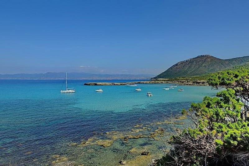 Das Meer in der Nähe vom Bad der Aphrodite - Auswandern und Leben auf Zypern