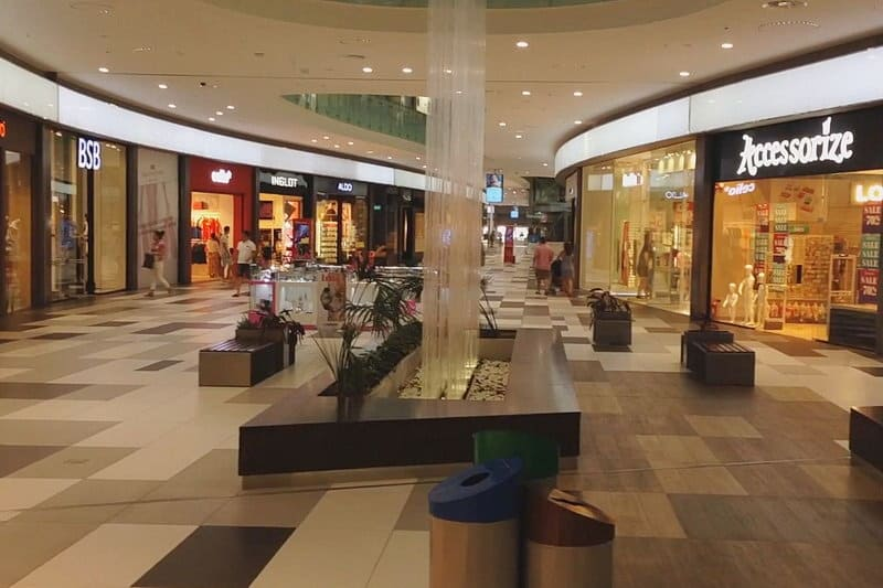 Die neue Mall in Paphos - Auswandern und Leben auf Zypern