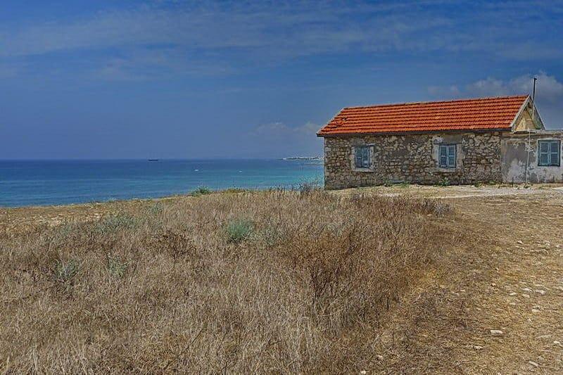 Im archäologischen Park in Paphos- Auswandern und Leben auf Zypern