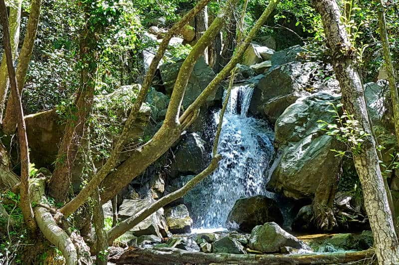 Auswandern nach Zypern - die Kalledonischen Wasserfälle