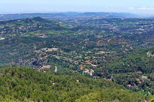 Auswandern nach Zypern - Ein Blick auf Pano Platres im Troodos
