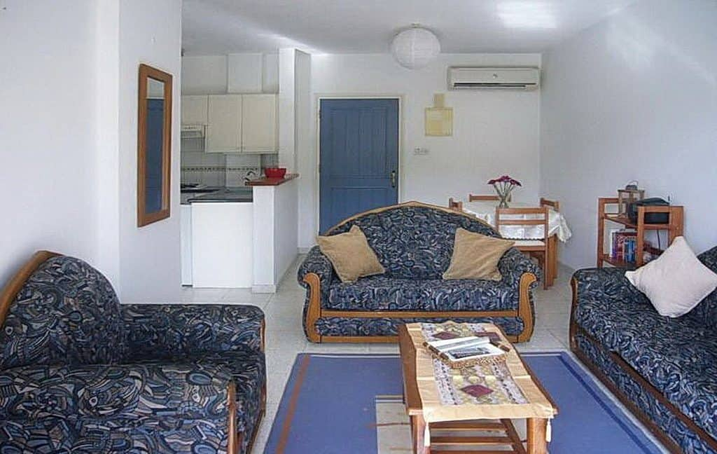 Immobilien auf Zypern: Zypern Appartement in Tombs of the Kings im Raum Paphos zur Langzeitmiete - PFL2111