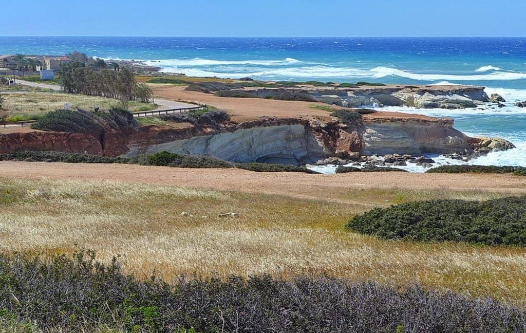 Bauland auf Zypern: Beachfront-Grundstück in exklusiver Lage im Raum Paphos zum Kauf - PFPL105