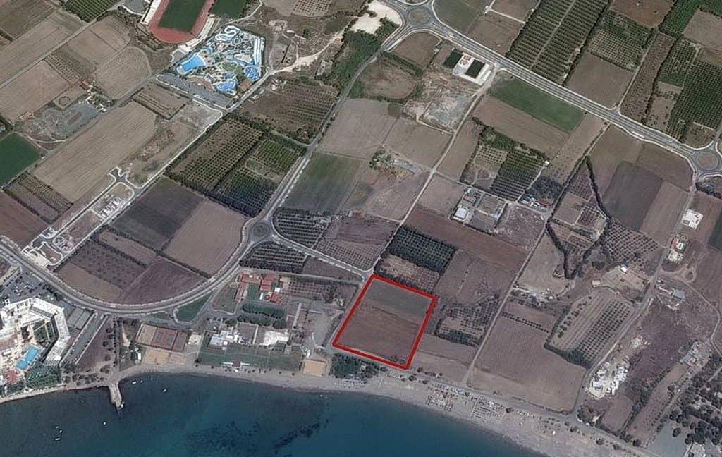 Bauland auf Zypern: Beachfront-Grundstück in exklusiver Lage im Raum Paphos zum Kauf - PFPL107