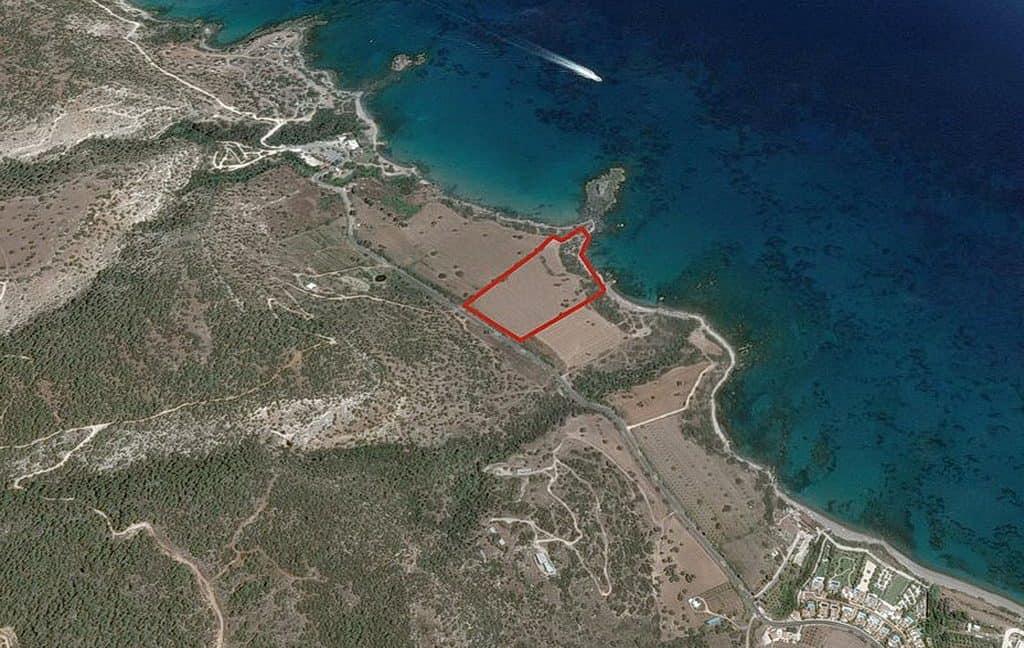 Bauland auf Zypern: Beachfront-Grundstück in exklusiver Lage im Raum Paphos zum Kauf - PFPL108