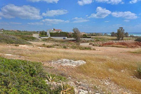 Bauland auf Zypern: Beachfront-Grundstück in exklusiver Lage im Raum Paphos zum Kauf - PFPL110