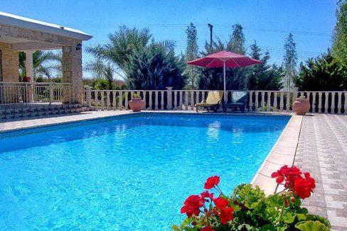 Immobilien auf Zypern: Zypern Villa in Kathikas im Raum Paphos zur Langzeitmiete - PFRS113