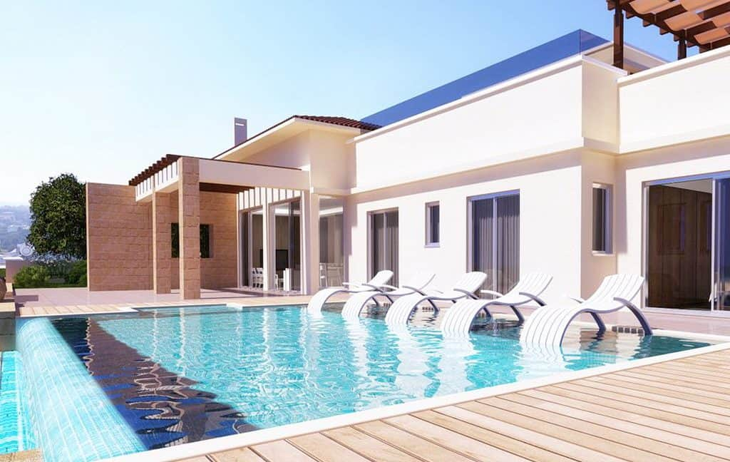 Immobilien auf Zypern: Zypern Sea-Front-Neubau-Villen in Latchi im Raum Paphos zum Kauf - PFSB193