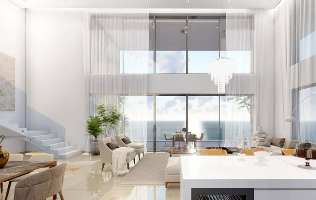 Immobilien auf Zypern: Neubau-Beachfront-Villen, Appartements und Penthouses in Kato Paphos im Raum Paphos zum Kauf - PFSB206