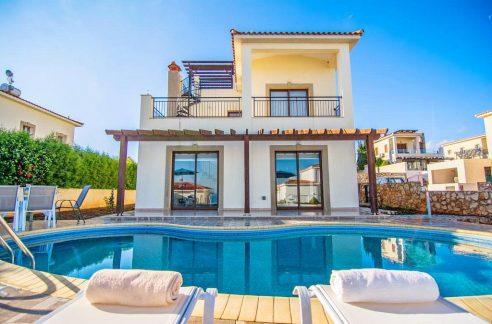 Immobilie zum Kauf auf Zypern: Villa mit Privatpool in Neo Chorio - PFSB220