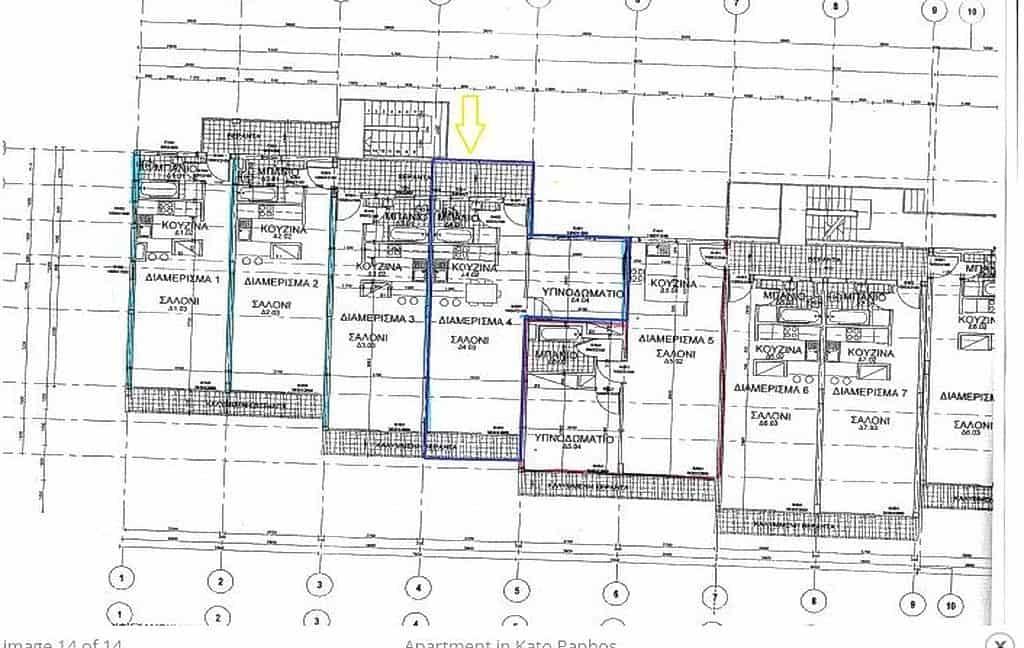 Immobilie zum Kauf auf Zypern: Appartement am Meer in Kato Paphos - PFSB223