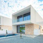 Immobilie zum Kauf auf Zypern: Villa Neubau-Erstbezug mit Privatpool und Meerblick in Emba - PFSB226